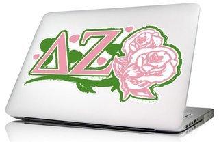 Delta Zeta 10 x 8 Laptop Skin/Wall Decal
