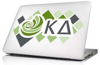 Kappa Delta 10 x 8 Laptop Skin/Wall Decal