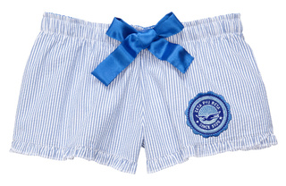 DISCOUNT-Zeta Phi Beta Dove Seal Seersucker Boxers