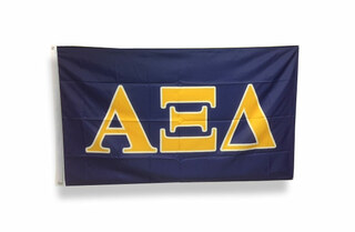 Alpha Xi Delta Big Greek Letter Flag