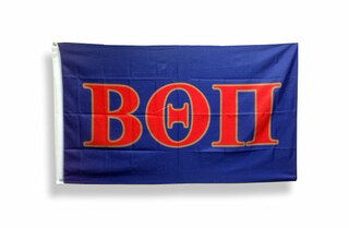Beta Theta Pi Big Greek Letter Flag