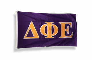 Delta Phi Epsilon Big Greek Letter Flag