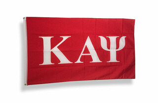 Kappa Alpha Psi Big Greek Letter Flag