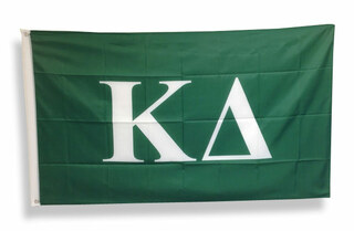 Kappa Delta Big Greek Letter Flag