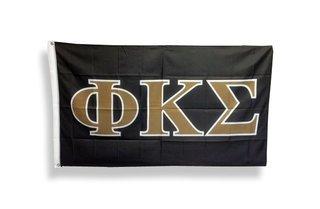 Phi Kappa Sigma Big Greek Letter Flag