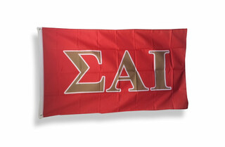 Sigma Alpha Iota Big Greek Letter Flag