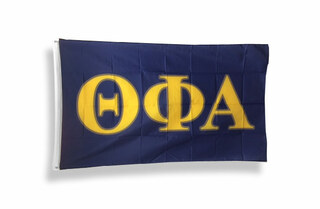 Theta Phi Alpha Big Greek Letter Flag