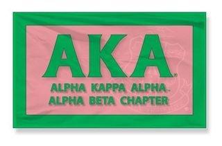 Alpha Kappa Alpha 3 X 5 Flag