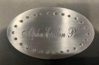 New Super Savings - Alpha Epsilon Phi Jewlery Holder - SILVER