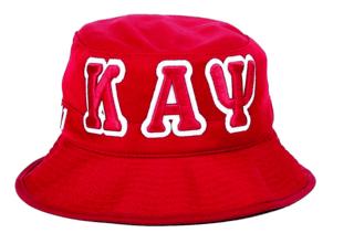 Kappa Alpha Psi Embroidered Bucket Hat