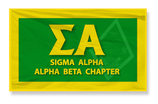Sigma Alpha 3 X 5 Flag