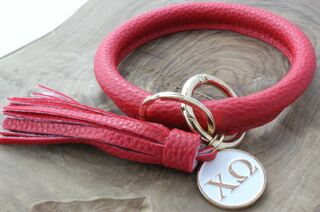 Chi Omega Bangle Keychain