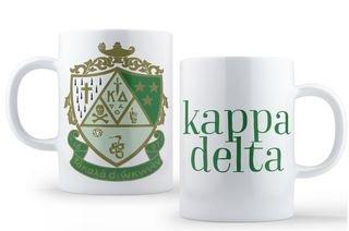 Kappa Delta Crest - Shield Coffee Mug