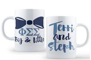 Phi Sigma Sigma Big & Little Coffee Mug