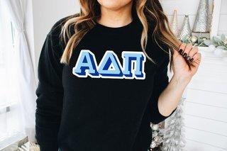 Alpha Delta Pi City Greek Sweatshirt