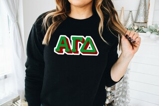 Alpha Gamma Delta City Greek Sweatshirt