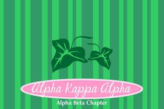 Alpha Kappa Alpha Mascot Tablecloth