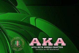 Alpha Kappa Alpha Tablecloth