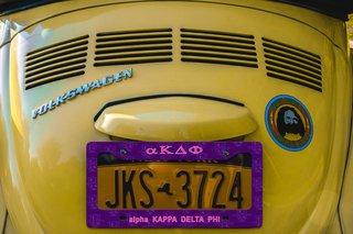 alpha Kappa Delta Phi New License Plate Frame