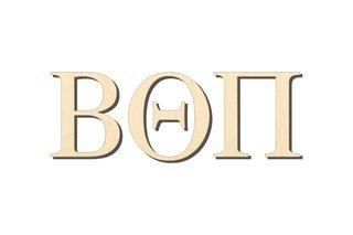 Beta Theta Pi Big Wooden Greek Letters
