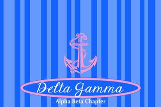 Delta Gamma Mascot Tablecloth