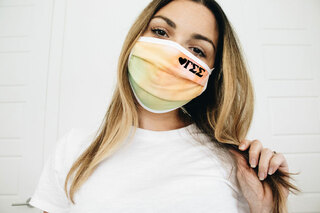 Gamma Sigma Sigma Tie Dye Face Mask