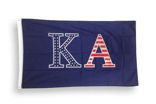 Kappa Alpha USA Patriotic Flag