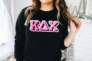 Kappa Delta Chi City Greek Sweatshirt