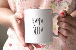 Kappa Delta MOD Coffee Mug - Personalized!