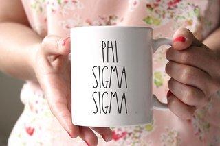 Phi Sigma Sigma MOD Coffee Mug - Personalized!