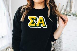 Sigma Alpha City Greek Sweatshirt