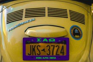 Sigma Alpha Omega New License Plate Frame
