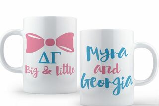 Delta Gamma Big & Little Coffee Mug