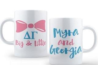 Delta Gamma Big & Little Coffee Mug