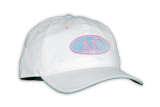 Delta Gamma Throwback Oval Game Hat