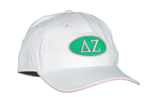 Delta Zeta Throwback Oval Game Hat