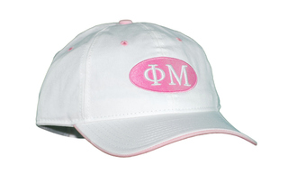 Phi Mu Throwback Oval Game Hat