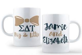 Sigma Delta Tau Big & Little Coffee Mug