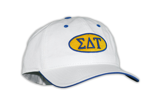 Sigma Delta Tau Throwback Oval Game Hat