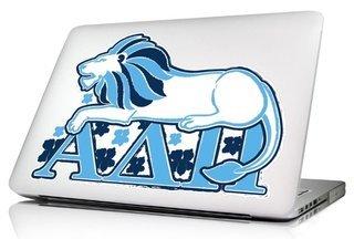 Alpha Delta Pi 10 x 8 Laptop Skin/Wall Decal