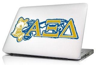 Alpha Xi Delta 10 x 8 Laptop Skin/Wall Decal