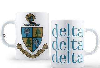 Delta Delta Delta Crest - Shield Coffee Mug