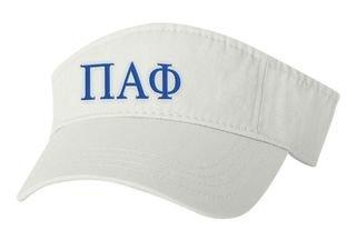 Pi Alpha Phi Greek Letter Visor