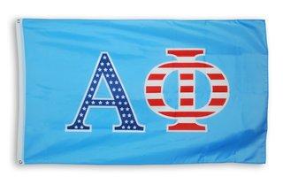 Alpha Phi 3 X 5 USA Flag