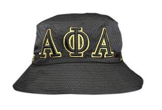 Alpha Phi Alpha Embroidered Bucket Hat