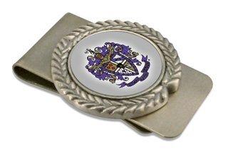 Sigma Alpha Epsilon Pewter Money Clip