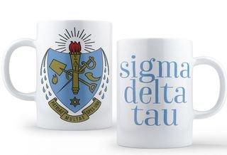 Sigma Delta Tau Crest - Shield Coffee Mug