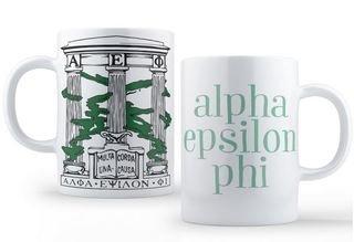 Alpha Epsilon Phi Crest - Shield Coffee Mug