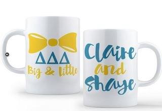 Delta Delta Delta Big & Little Coffee Mug