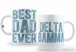 Delta Gamma Best Dad Ever Coffee Mug